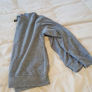 Forever 21 lightweight heathered blue sweater